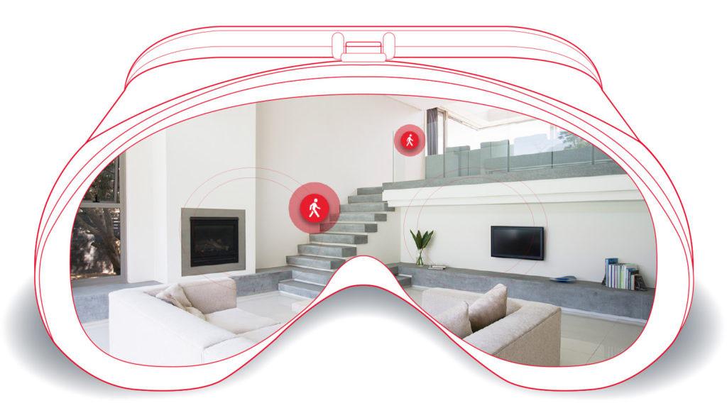 Kính dùng trong công nghệ thực tế ảo VR