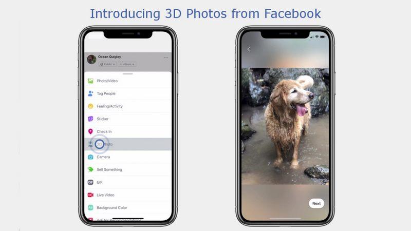 Ảnh 3D trên Facebook