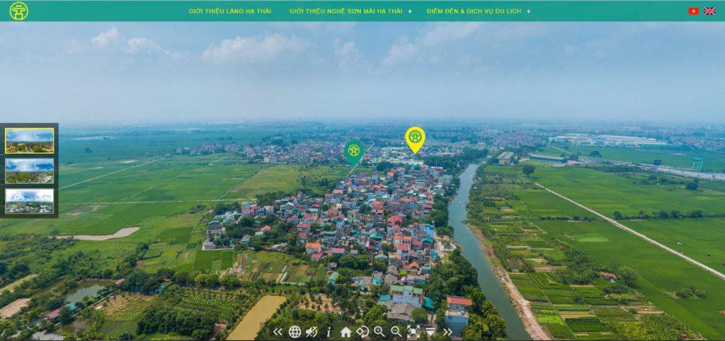Tour thực tế ảo 360 độ - flycam