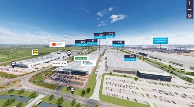 ứng dụng thực tế ảo VR Tour cho khu công nghiệp