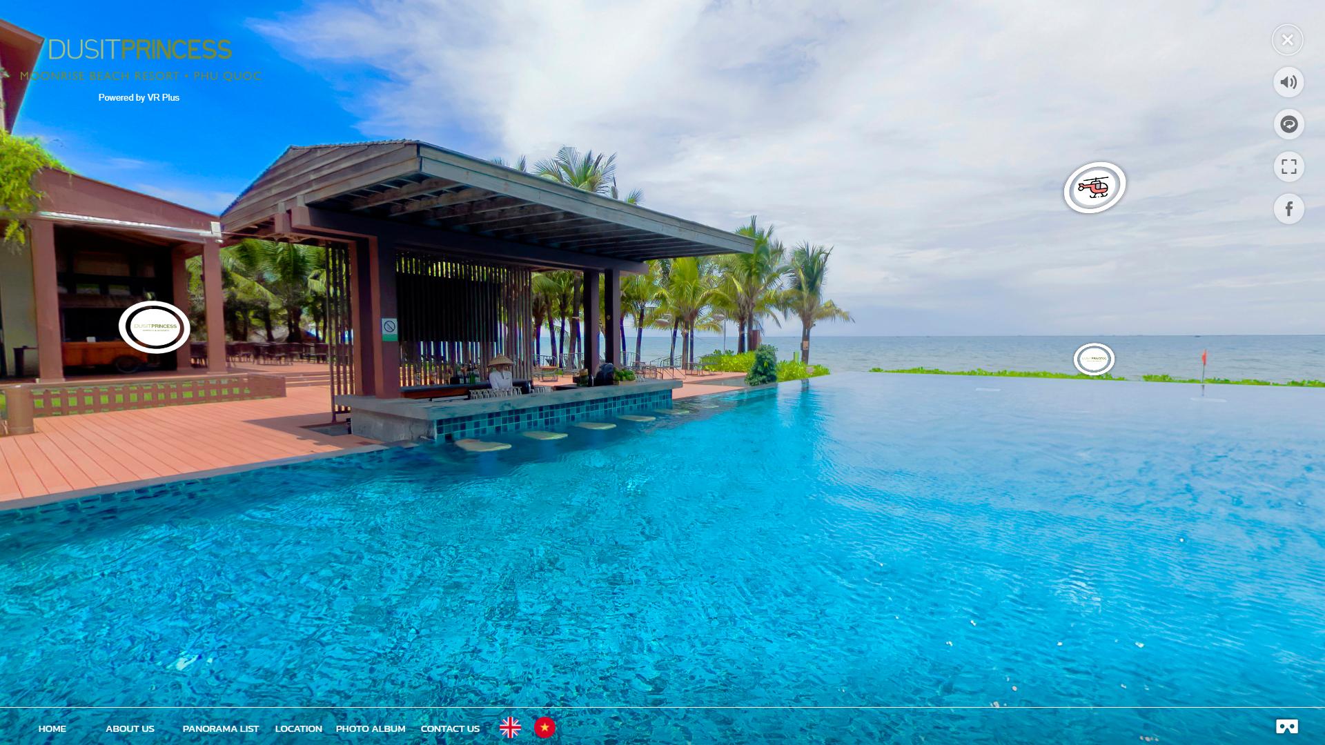 Resort virtual tour