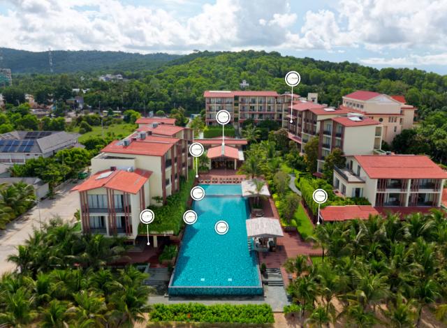 Công nghệ tour 360 cho nhà hàng khách sạn