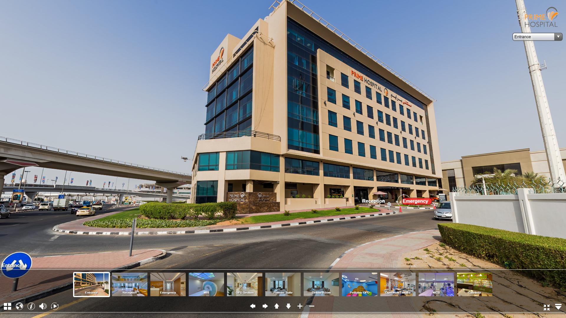 hospital 360 tour