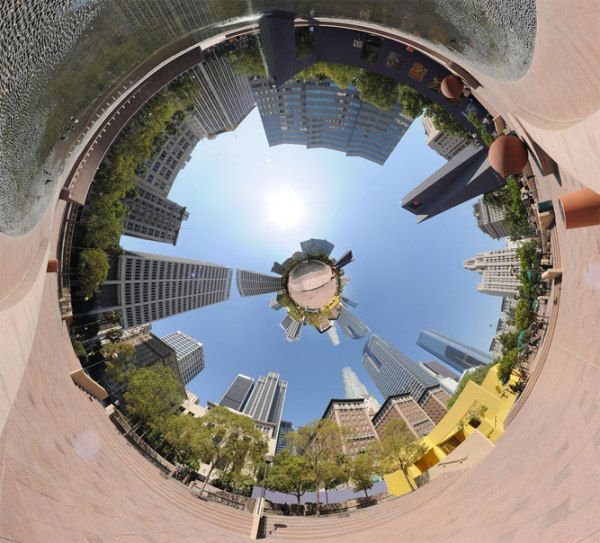 panoramic 360 photo