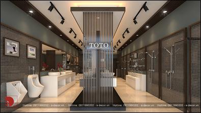 Tour 360 cho showroom thiết bị vệ sinh cao cấp TOTO