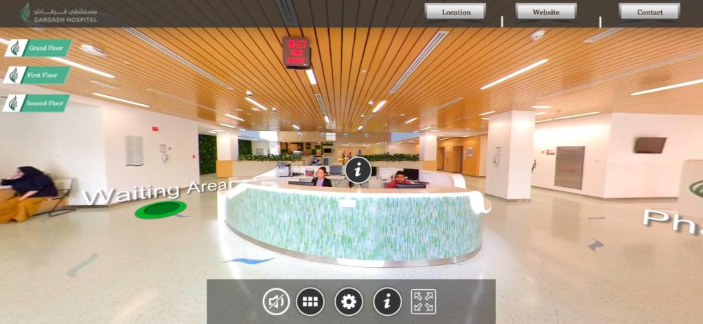 Virtual Tour 360 Gargash hospital