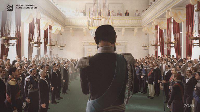 Công nghệ thực tế ảo VR tour áp dụng cho Bảo tàng Quốc Gia Finland