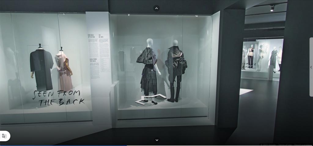 Tương tác VR tour khi thăm quan triển lãm thời trang tỉnh Antwerpen (Bỉ)