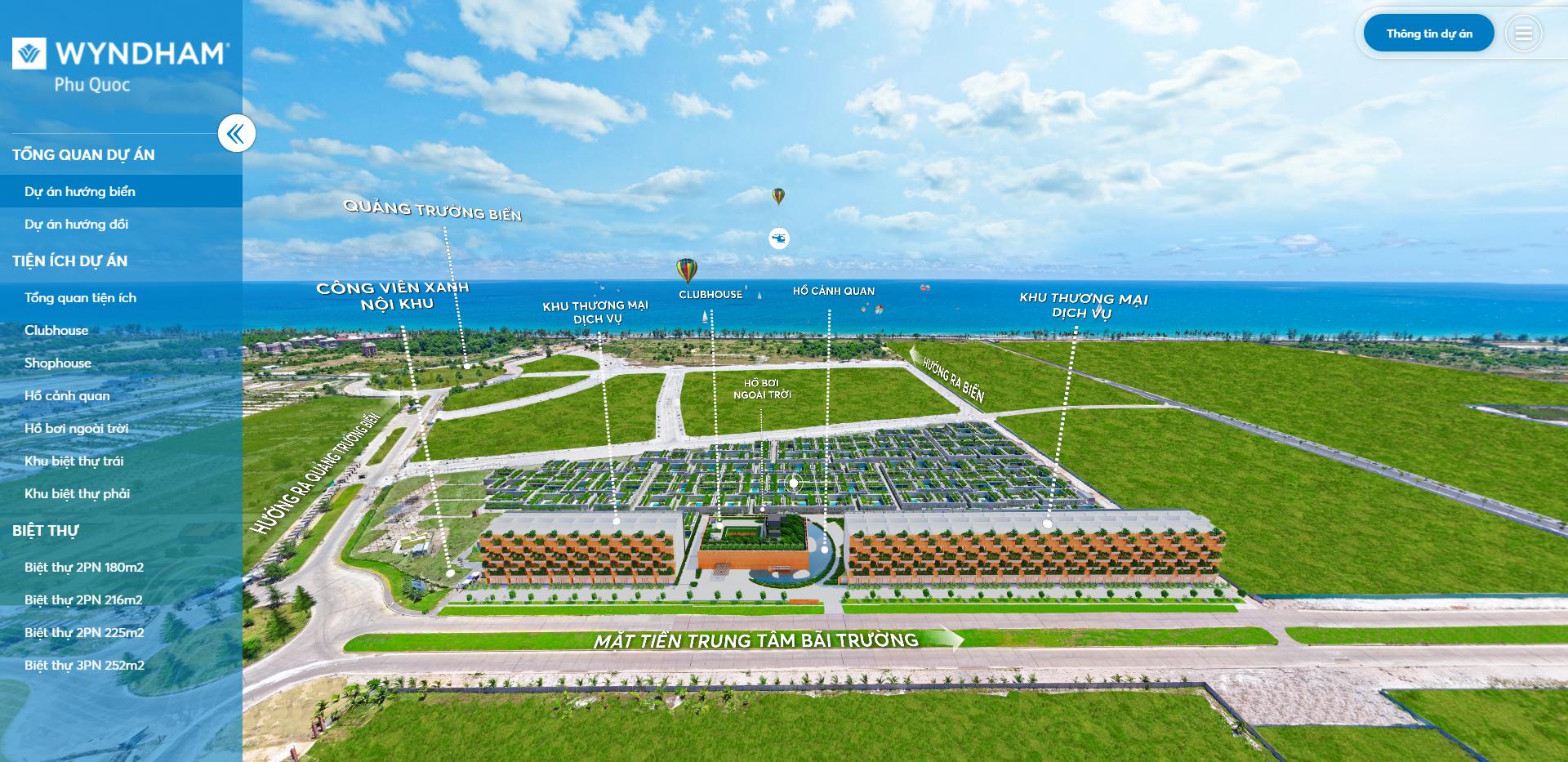 VR Tour 360 BĐS: Dự án Wyndham Phú Quốc