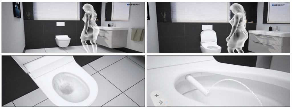 thiết bị vệ sinh showroom